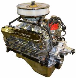 PACE Performance - BPF4084CT-P3X - Pace Prepped & Primed SBF 408/425HP with Polished Trim Crate Engine