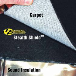 "Heatshield Products - HSP810001 - HP Stealth Shield - 1/8"" Thick x 24"" x 53"""