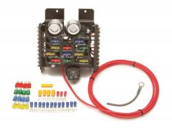 Painless Wiring - Painless Wiring 11 Fuse Compact Universal Race/Pro Street Fuse Block 50101
