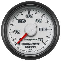 AutoMeter - AutoMeter Factory Match Mechanical Boost Controller Gauge 8525