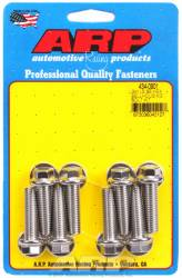 "ARP - ARP4340901 - ARP Bellhousing to Engine Block Bolt Kit, Chevy Gen III/LS Small Block, Stainless Steel, Hex Head, 1.375"" UHL, M10 x 1.5 Thread"