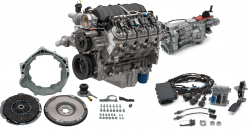 Chevrolet Performance Parts - CPSLS376525T56 - Chevrolet Performance LS3 525HP Engine with T56 6 Speed