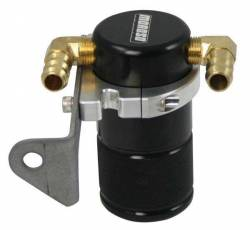 Moroso Performance - MOR85641 - Air-Oil Separator Small Body, Black Anodized, Chrysler 5.7 with Aftermarket Intake, See Details for Complete Applications