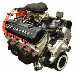 PACE Performance - GMP-19166393-2X  - Pace Prepped & Prime ZZ427 505HP Black Finish Crate Engine with GM Muscle Car Oil Pan
