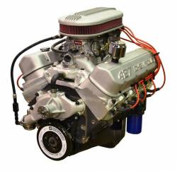 PACE Performance - GMP-19166393-4X  - Pace  Prepped & Primed ZZ427 505HP Dual Quad Crate Engine with GM 4QT Muscle Oil Pan.
