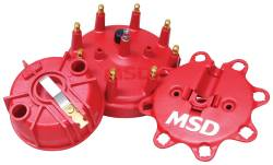 MSD Ignition - MSD Ignition Distributor Cap And Rotor Kit 84085