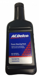 GM (General Motors) - 19329450 - GM/AC Delco Power Steering Fluid - 16 Oz.