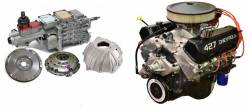 PACE Performance - GMP-TK6ZZ427 - Pace Prepped & Primed ZZ427 505HP Turnkey Engine with TKO600 5 Speed Transmission Package