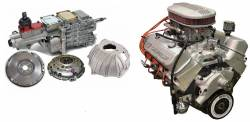 PACE Performance - GMP-TK6ZZ427-4X - Pace Prepped & Primed ZZ427 505HP Dual Quad Crate Engine with TKO600 5 Speed Transmission Package