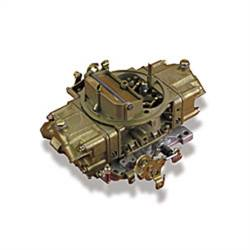 Holley Performance - HLY0-4779C - Holley Performance 750CFM Double Pumper Carburetor, Manual Choke, Mechanical Secondaries, Gold Dicromate