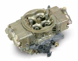 Holley Performance - HLY0-80535-1 - Holley Performance 750CFM Race Carburetor, Mechanical Secondary, Calibrated for Methanol, Gold Dichromate Finish