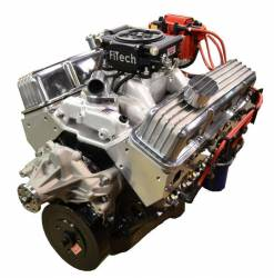 PACE Performance - BP38313CT1-3FX - Pace Fuel Injected SBC 383/430HP EFI Crate Engine with Polished Trim