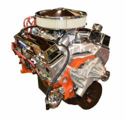 PACE Performance - BP4001CT1-1X  Pace Prepped & Primed SBC 400/460HP Chrome Finish Turn Key Crate Engine