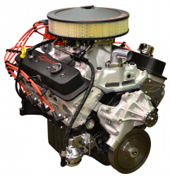 PACE Performance - GMP-19355722-2FX - Pace Fuel Injected SP383 435HP Black Finish EFI Crate Engine