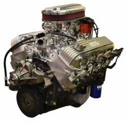 PACE Performance - GMP-T56ZZ454-3 - Pace Prepped & Primed CPP ZZ454 440HP Polished Finish Crate Engine with T56 6 Speed Transmission Package