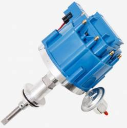 TSP - TSP-JM6513BL Mopar SB Ready to Run HEI Distributor. Blue Cap