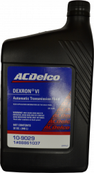 GM (General Motors) - 88865601 - AC Delco Dexron VI Automatic Transmission Fluid - 1 Quart Container