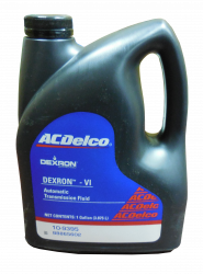 GM (General Motors) - 88865602 - AC Delco Dexron VI Automatic Transmission Fluid - 1 Gallon Container