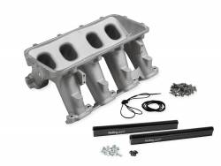 Holley Performance - Holley Performance Gen V LT1 Hi-Ram Lower Intake Manifold Only 300-236