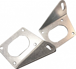 Crate Innovations - CII-80652 - ALUMINUM MOTOR MOUNTS, DIRT LATE MODEL, MODIFIED CT525