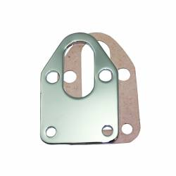 TSP - TSP-SP7623 - Chevy Small Block Chrome Steel Fuel Pump Mounting Plate