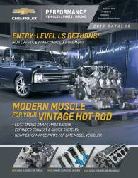 Chevrolet Performance Parts - 19369174 - 2018 Chevy Performance Catalog