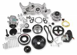 Holley Performance - Holley Performance Mid-Mount LT Accessory Drive System Kit 20-200
