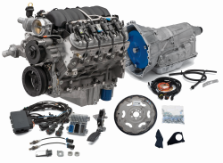 Chevrolet Performance Parts - CPSLS3764806L80E - Chevrolet Performance LS3 495HP Engine with 6L80E 6-Speed Auto Transmission Combo Package