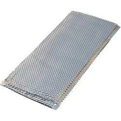 "Heatshield Products - HSP - HSP120614 - Inferno Shield - Stainless Steel Heat Shield - 6"" X 14"" 1800 Degrees F Continuous"