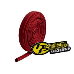 "Heatshield Products - HSP203121 - Colored Sleeving - 25' Roll, Adjustable Inside Diameter:1/4"" To 7/16"" - Withstands 1200 Degrees F Continuous - Red"