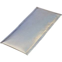 "Heatshield Products - HSP110614 - Inferno Shield - Aluminum Heat Shield - 6"" X 14"" 900 Degrees F Continuous"