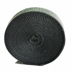 "Heatshield Products - HSP322025 - Exhaust Heat Wrap - 2"" Wide X 1/16"" Thick X 25' Long - Standard Grade- Black"