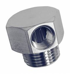 "Performance Stainless Steel - PSS1043 - Vacuum Fitting, 3/8"" Pipe With 1 Internal Pipe Ports"
