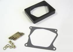 Lokar - Lokar Midnight Series Edelbrock Pro-Flow Injection Spacer XTCB-40ED