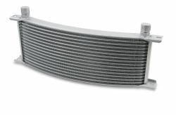Earls Plumbing - Earls Plumbing Temp-A-Cure Curved Oil Cooler 91608ERL