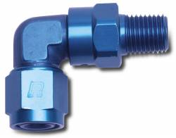 Russell - Russell Specialty AN Adapter Fitting 90 Deg. Female AN To Male Swivel NPT 614018