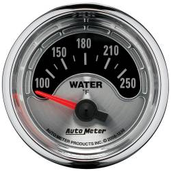 AutoMeter - AutoMeter American Muscle Water Temperature Gauge 1236