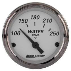 AutoMeter - AutoMeter American Platinum Electric Water Temperature Gauge 1938