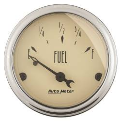 AutoMeter - AutoMeter Antique Beige Fuel Level Gauge 1815