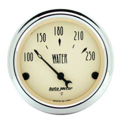 AutoMeter - AutoMeter Antique Beige Water Temperature Gauge 1837