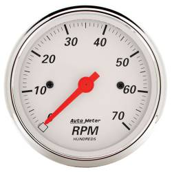 AutoMeter - AutoMeter Arctic White Electric Tachometer 1398