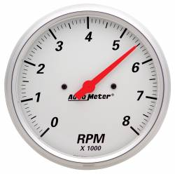 AutoMeter - AutoMeter Arctic White Electric Tachometer 1399