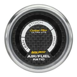 AutoMeter - AutoMeter Carbon Fiber Electric Air Fuel Ratio Gauge 4775