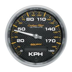 AutoMeter - AutoMeter Carbon Fiber In-Dash Electric Speedometer 4787-M