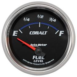 AutoMeter - AutoMeter Cobalt Electric Fuel Level Gauge 7914