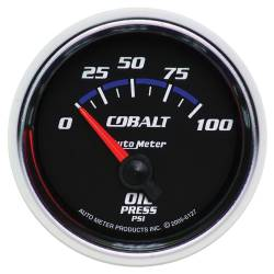 AutoMeter - AutoMeter Cobalt Electric Oil Pressure Gauge 6127