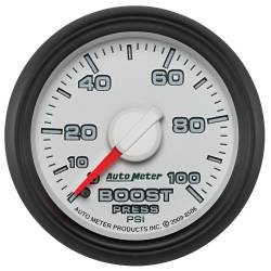 AutoMeter - AutoMeter Factory Match Mechanical Boost Gauge 8506