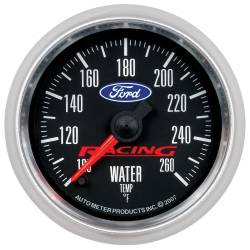 AutoMeter - AutoMeter Ford Racing Series Electric Water Temperature Gauge 880086