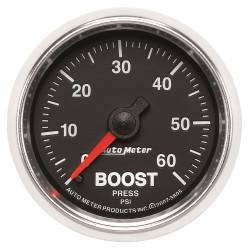 AutoMeter - AutoMeter GS Mechanical Boost Gauge 3805