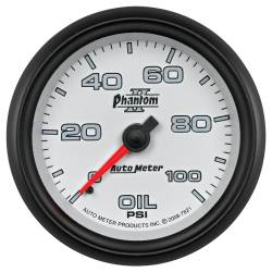 AutoMeter - AutoMeter Phantom II Mechanical Oil Pressure Gauge 7821